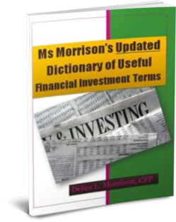 Updated Dictionary of Useful Financial Investment Terms